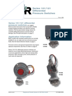 Differential Presure Switches Series 101.121