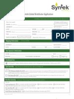 Syntek Global Distributor Application