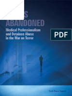 Ethics Abandoned - Medical Professionalism and Detainee Abuse in the War on Terror