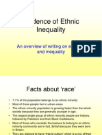Ethnicity and Inequality