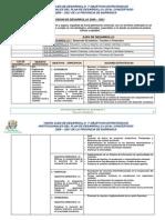 PLAN DE DESARROLLO CONCERTADO 2009-2021 DE LA PROVINCIA DE BARRANCA - Ejes y Objetivos