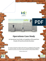 Marico Over the Wall Operations Case Study