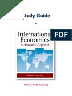 Study Guide for Heterodox International Economics