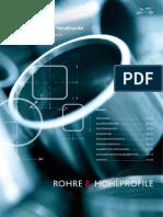 Lieferprogramm Rohre u Hohlprofile KSM 01-2