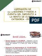 Suspension de Retenciones Al 2013 I-Email