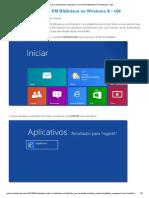 Instalando o TOTVS RM Biblioteca No Windows 8 - x64