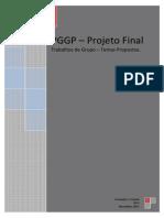 20111108 Temas Propostos Para Trabalhos de Grupo