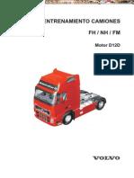 Manual Motor d12d Camiones Fn Nh Fm Volvo