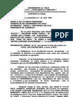 SICAR, LOS  SERVICIOS DE INTELIGENCIA DE CARABINEROS DE CHILE