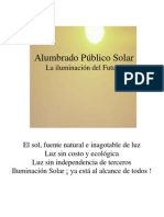 Ficha Tecnica Alumbrado Publico Solar