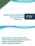 SELECCIÓN POLITICAS PUBLICAS