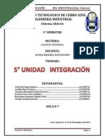 Unidad 5 Integración-1
