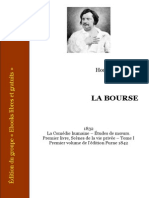 Balzac La Bourse