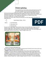 Dasar Teori Elektroplating
