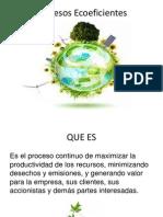 Procesos Ecoeficientes
