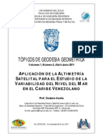 PDF. Altimetria Satelital