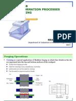 Bulk Deformation Processes-Forging
