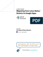 Field Guide to Migrating from Lotus Notes/Domino to Google Apps