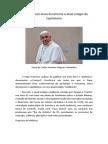 Papa Francisco ataca duramente o atual estágio do Capitalismo