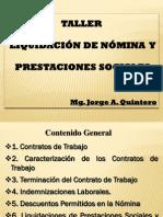 2. Liquidación de nómina y prestaciones sociales 2 DE noviembre 2012 - ver 2.0