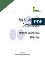 Aritimética Binária_IFBA