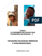 E.R. TRADIÇÕES RELIGIOSAS E INDIGENAS