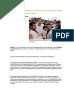 15-06-2013 Puebla Noticias - Inicia La Cuenta Regresiva Para El Mundial de Taekwondo en Puebla