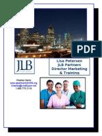Lisa Petersen - JLB Partners - DFW - 8-29-13