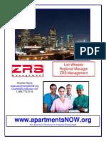 Lori Wheeler - ZRS Management - DFW - Mailer - 8-28-13