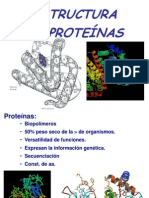 e Structur a Protein As