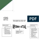 Cuadro Conceptual de La Reforma Actual