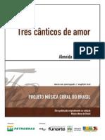 Coleção Funart - Almeida Prado - Três cânticos de amor