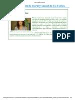 DSA Unidad 3 El desarrollo moral y sexual de 0 a 6 años