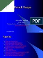 Credit Default Swaps in India