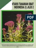 Inventaris Tanaman Obat Indonesia I Jilid 2