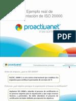 implantación de ISO 20000