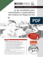 Para El Gobierno Regional (GR)