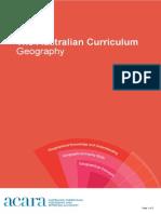 australian curriculum geog