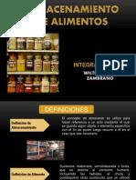 Sistemas de Almacenamiento en La Industria Alimentaria. OCA