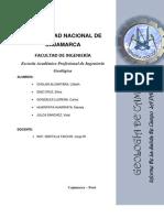Informe_geologia de Campo