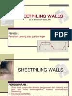 Sheetpiling Wall