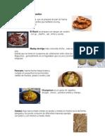Comidas típicas mapuches