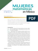 Mujeres Matematicas