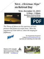 2013 Open Retreat - Dec. 11