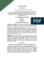 Ley 489 de 1998-Organ-funcion-Entidades Del Orden Nacional