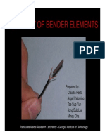 Bender Elements Manual