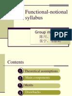 Functional-notional Syllabus 4