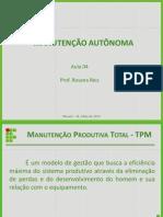 AULA 04 - MANUTENÇÃO AUTÔNOMA