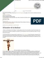 El Hombre de la Imagen _ La Síndone de Turín_ Centro Español de Sindonología