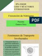 Geometria de Poro y Fisisorcion de N2